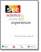 image: Cover of SEE Parent Educator Manual